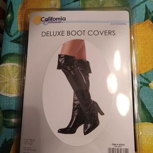 Costume Deluxe Boot Covers - Black
